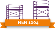 NEN 1004 stickers