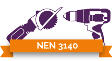 NEN 3140 stickers