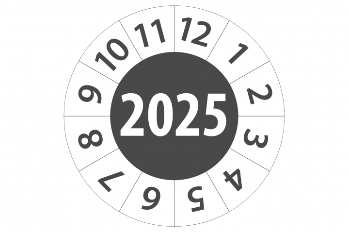 Keuringsticker 2025