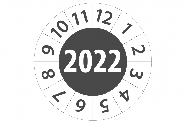 Keuringsticker 2022