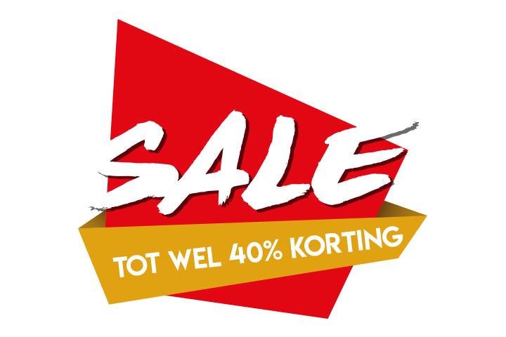 Sale sticker 40%