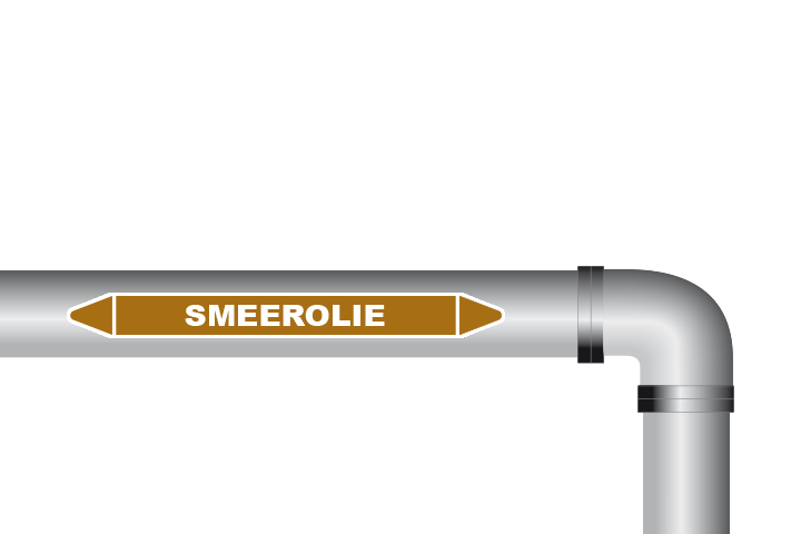 Smeerolie sticker