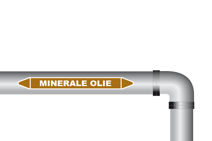 Minerale olie sticker