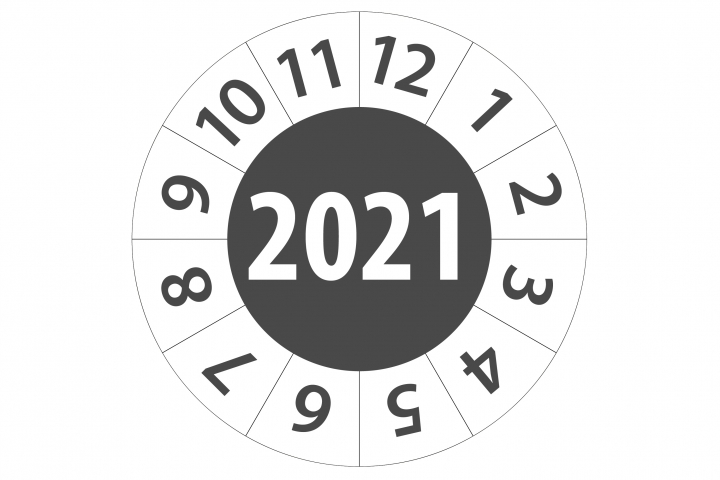 Keuringsticker 2021
