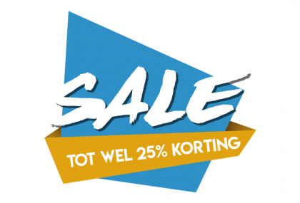 Sale sticker 25%