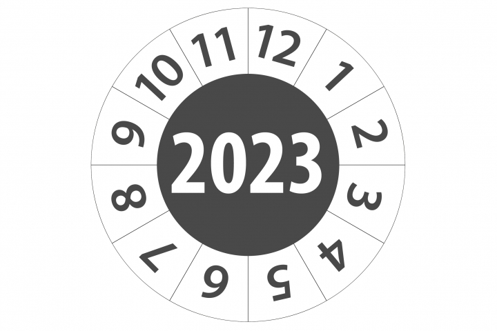 Keuringsticker 2023