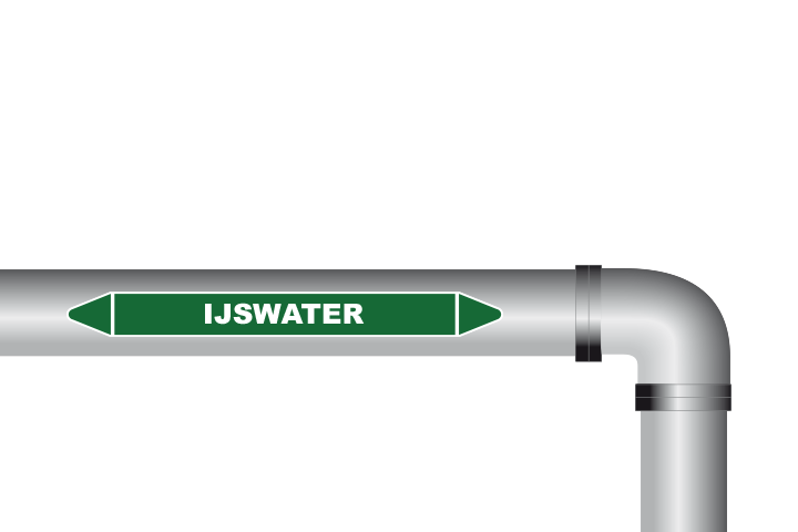 IJswater sticker