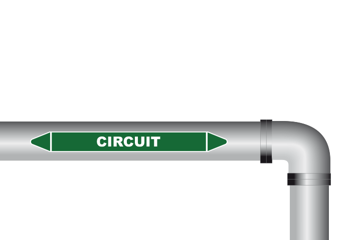 Circuit sticker