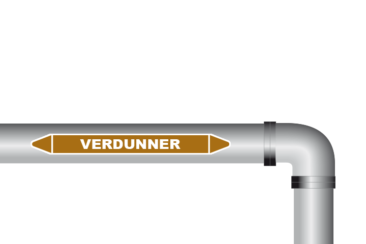 Verdunner sticker