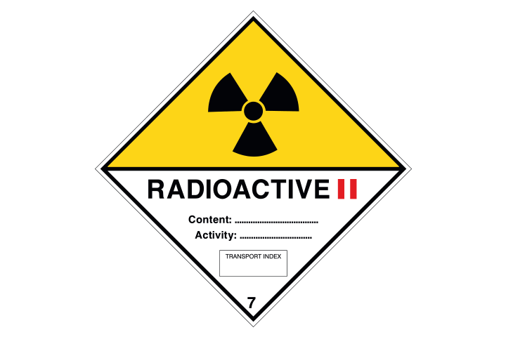 Radioactive categorie 2 - Business Stickers