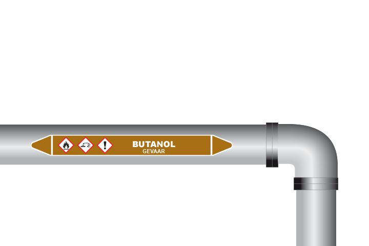 Butanol sticker