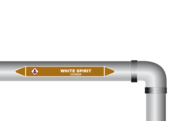 White spirit sticker