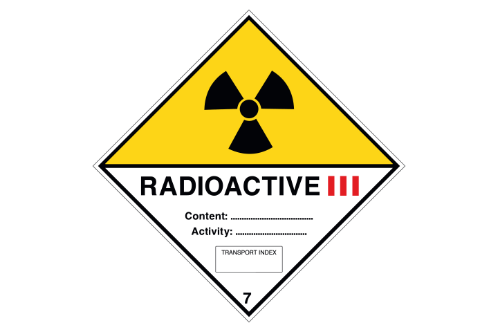 Radioactive categorie 3 - Business Stickers