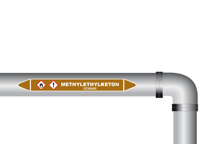 Methylethyketon sticker