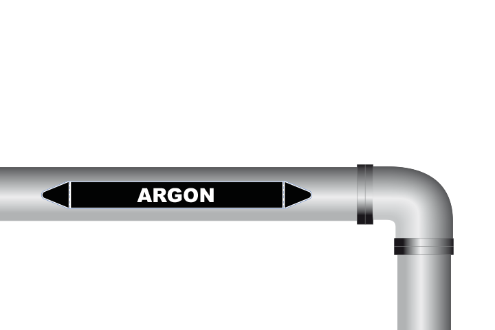 Argon sticker