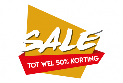 Sale sticker 50%
