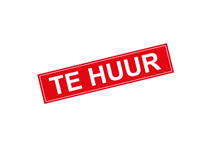 Stickers per Branche > Makelaarsstickers - Te huur sticker