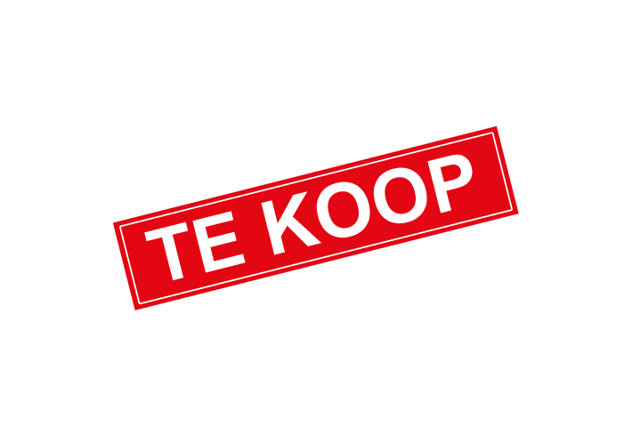 Stickers per Branche > Makelaarsstickers - Te koop sticker