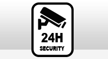 Camerabewaking - Camerabewaking 24 uur security sticker