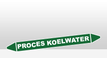 Water - Proces koelwater sticker